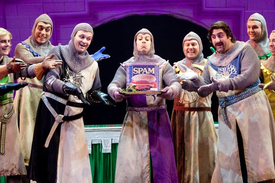 "Laugh yourself silly at a performance of Monty Python's ""Spamalot"" on Sunday in Morristown."