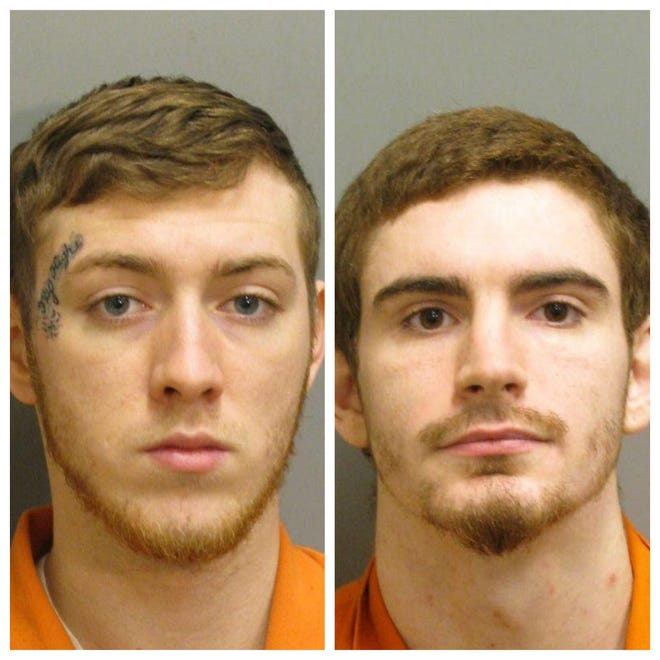 Joshua Scott Horn and Casey Shane King were each charged with two counts of attempted murder.