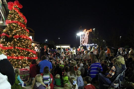 The Town of Pike Road's annual Christmas Tree Lighting kicks off the community's annual Season of Giving, which helps veterans in central Alabama, as well as those served by a local food pantry.