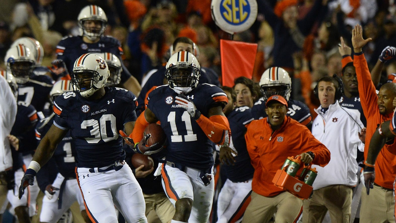 2013 Iron Bowl Auburn Alabama Radio Broadcasters Remember The Kick Six