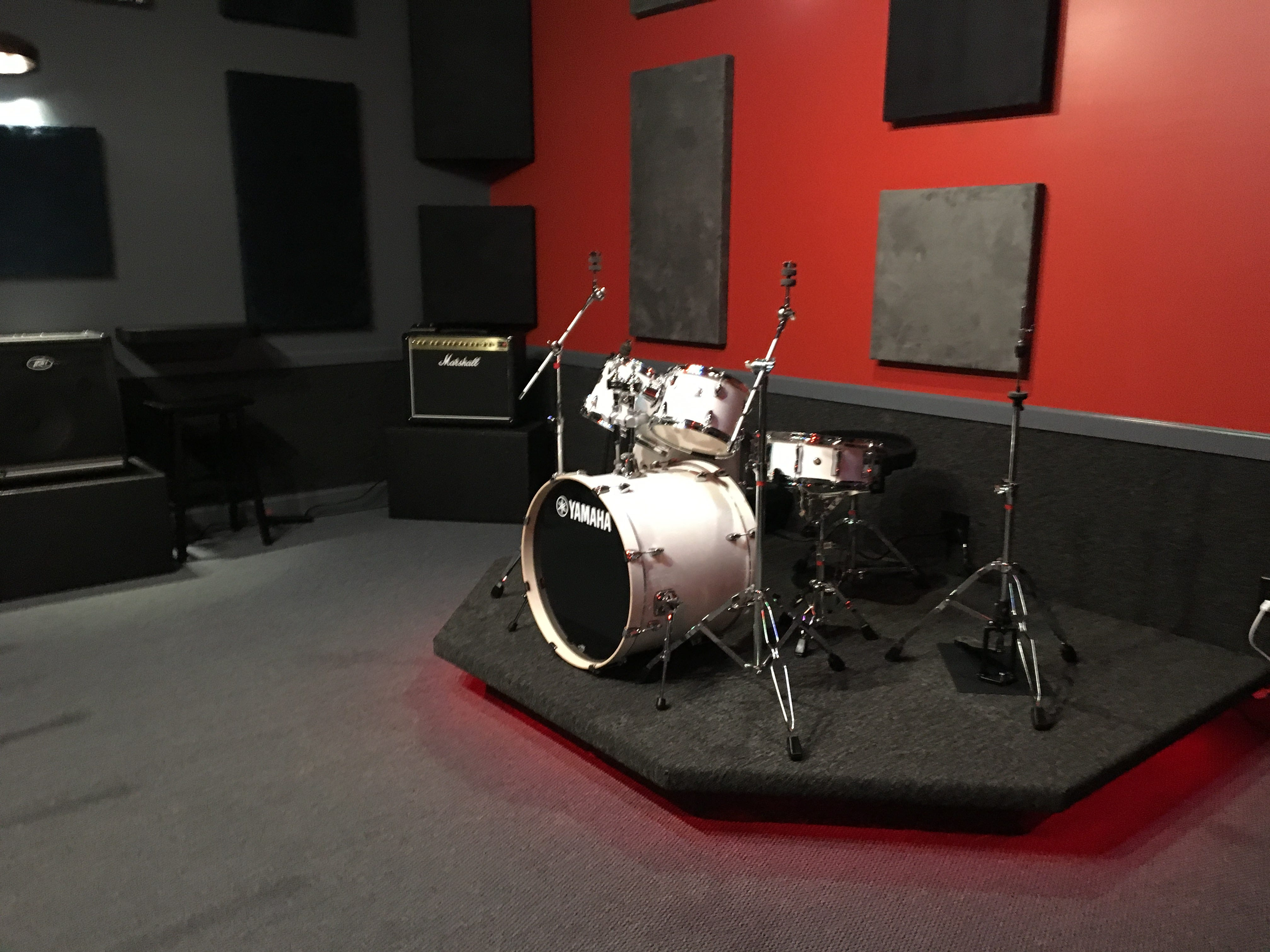 Ridenour Rehearsal Studios, 1203 Park Ave. in Murfreesboro, offers everything bands need to practice. There are five rehearsal rooms in varying sizes that bands can rent.