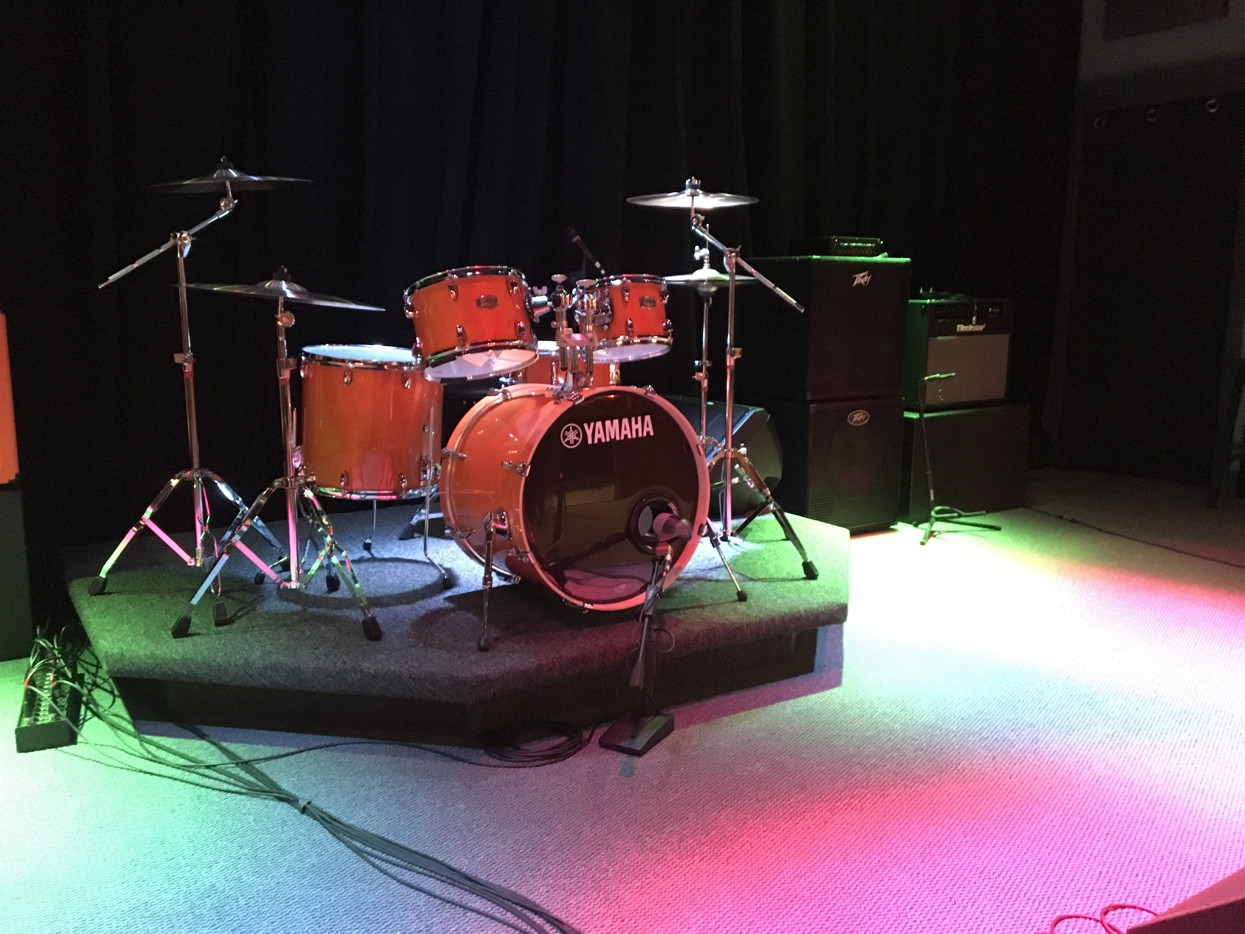 Ridenour Rehearsal Studios, 1203 Park Ave. in Murfreesboro, offers everything bands need to practice.