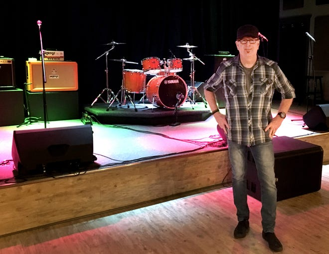 Keith Ridenour recently opened Ridenour Rehearsal Studios at 1203 Park Ave. in Murfreesboro.