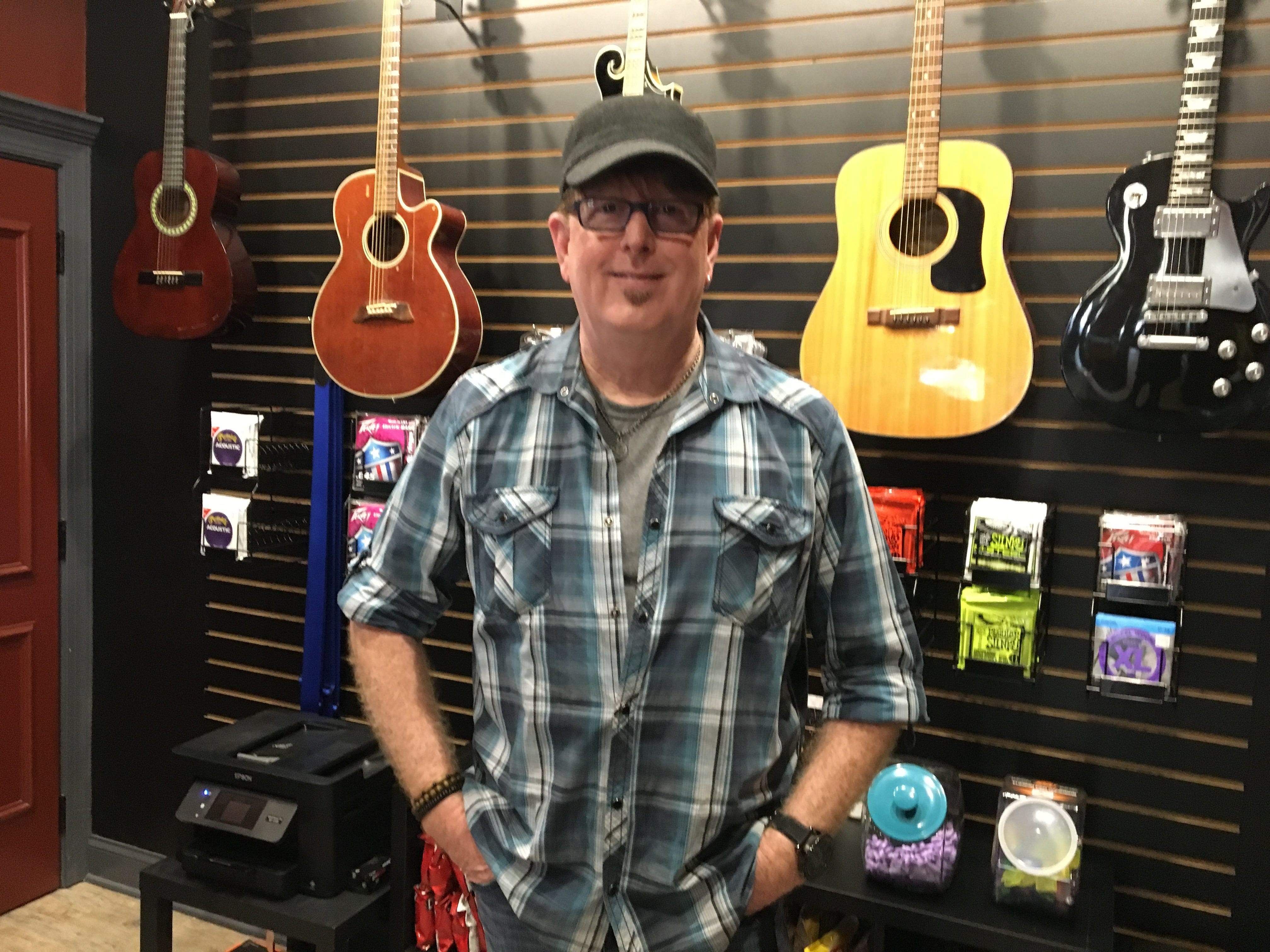 Keith Ridenour opened Ridenour Rehearsal Studios, 1203 Park Ave. in Murfreesboro. The 5,600-square-foot facililty offers everything bands need to practice.