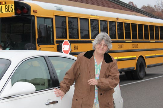 Longtime Westmoreland High School custodian Penny Calvert was gifted a car after hers was totaled, thanks to faculty and students at the school.