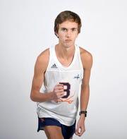 Distance runner David Ahlmeyer