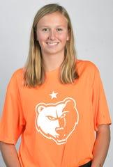 Brentwood goal keeper Kate Devine
