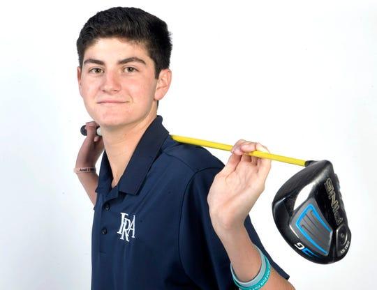 Franklin Road Academy golfer  Josh Holtschlag,