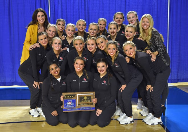 The Brentwood Academy dance team took first place in the medium jazz category at the Tennessee Secondary Schools Athletic Association championship Nov. 18 in Murfreesboro.