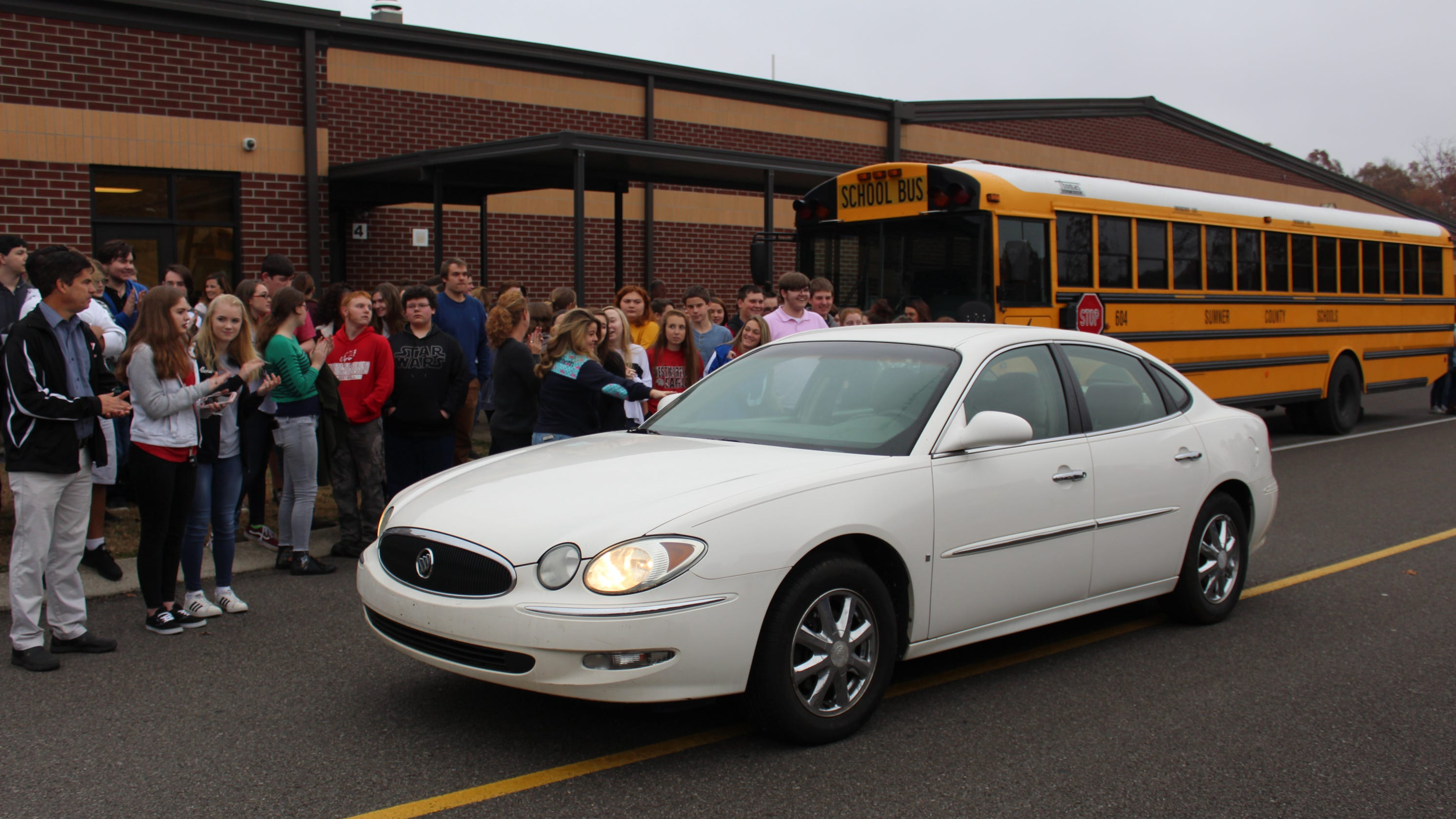 Afford A Car >> Westmoreland High School Students Surprise Ms Penny With Donated Car
