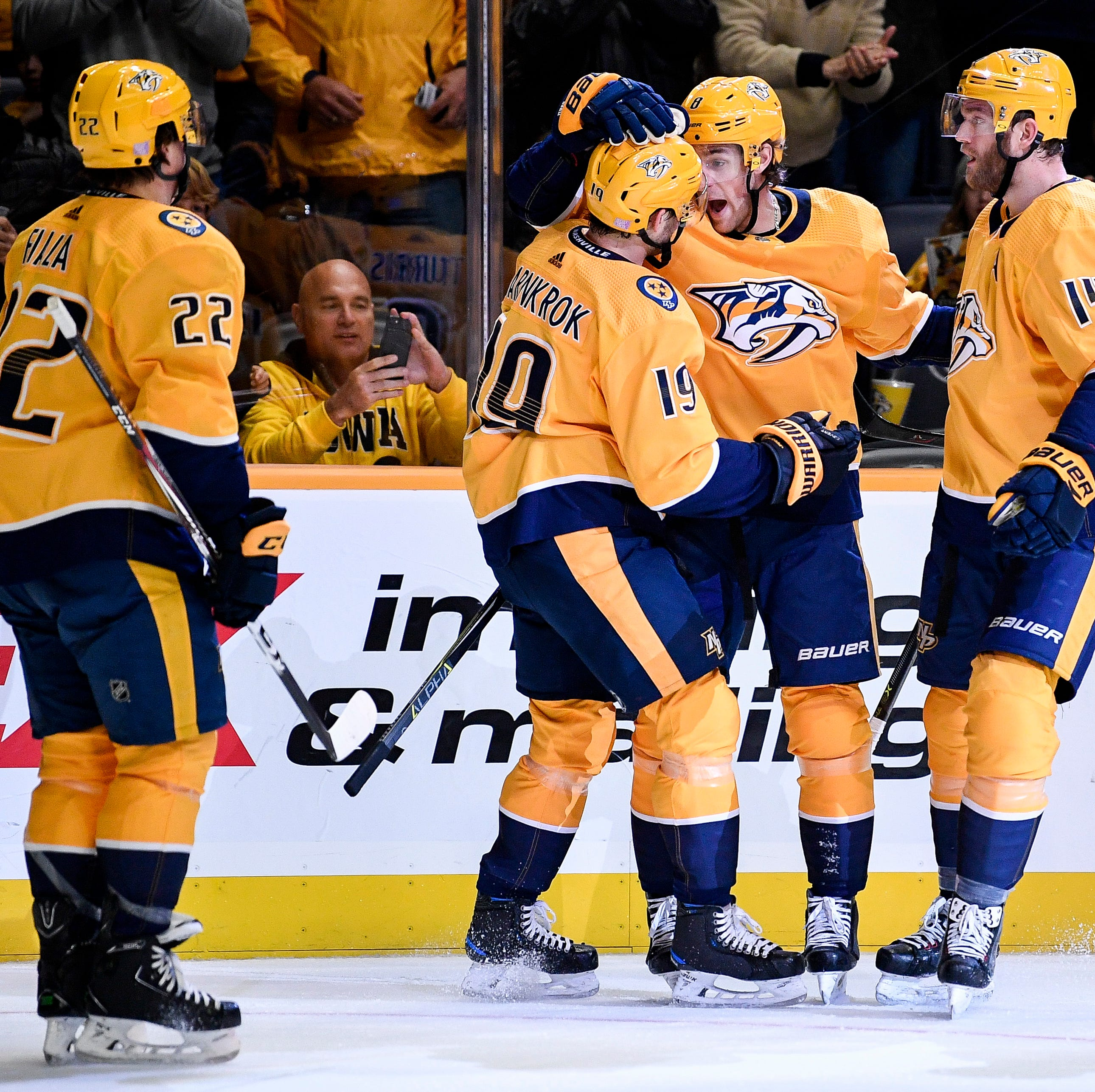 Monday's recap: Predators 3, Lightning 2