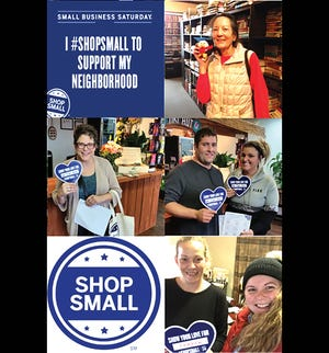 Snapshots from a previous Small Business Saturday Scavenger Hunts hosted by the Fairview Chamber. You can join the fun this Saturday, November 24.