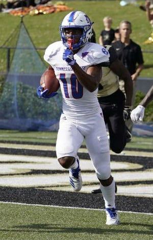 Tennessee State cornerback Dajour Nesbeth was named to the All-OVC first team Tuesday.