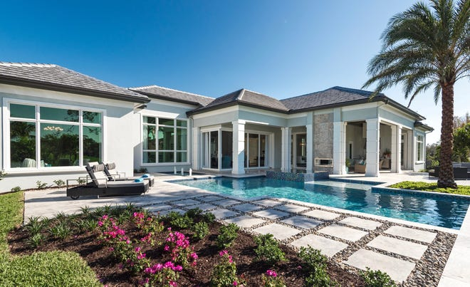 McGarvey's Southampton model in Quail West is priced at $3.75 million, including furnishings.