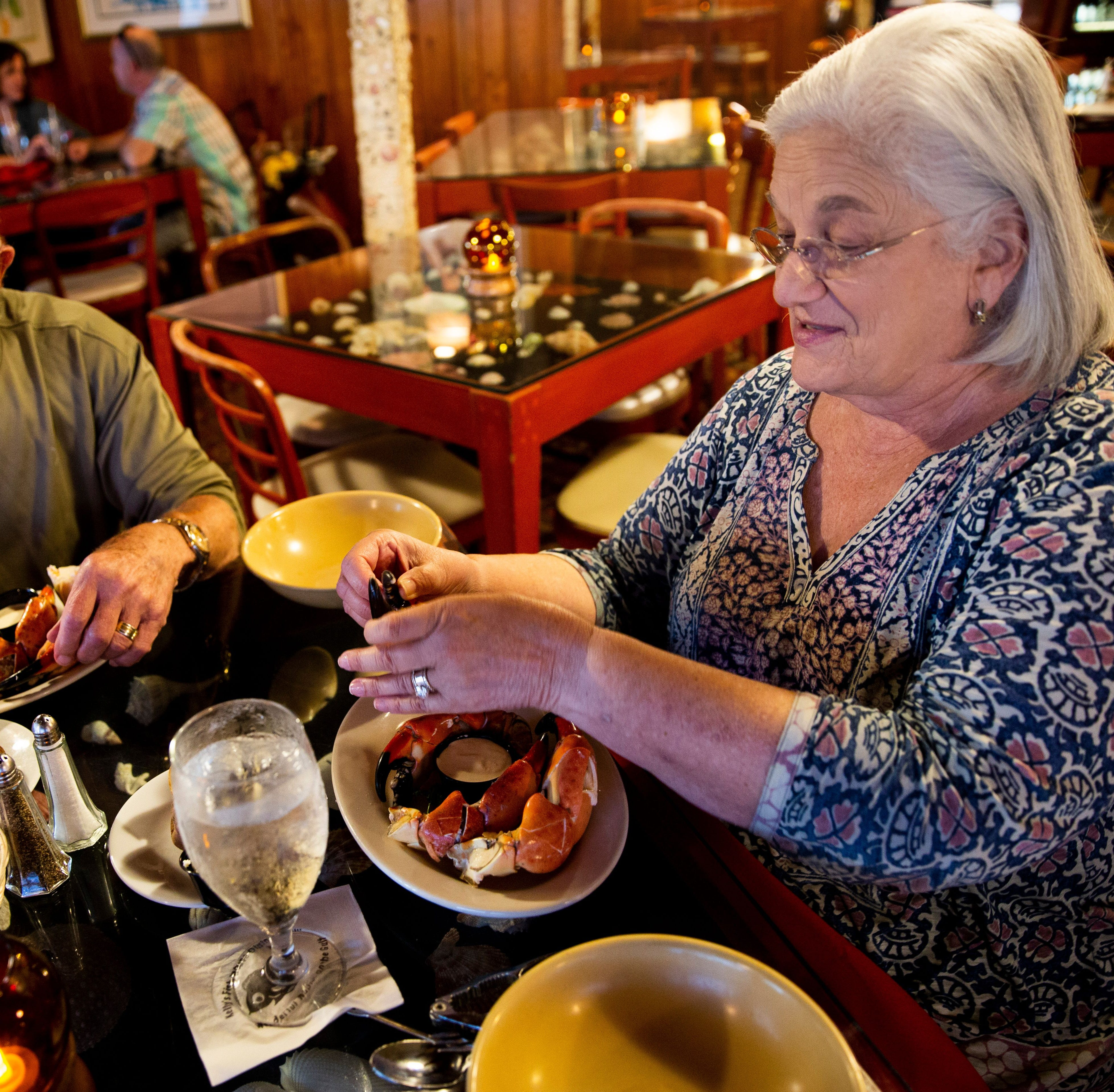 Thanks given: 8 restaurants in Naples, Fort Myers, Cape Coral for which JLB is thankful
