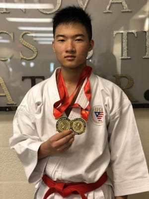 Naples High junior Cody Lam is fast becoming one of the top teen karate competitors in the nation, competing and winning at the international level as a member of the U.S. national team.