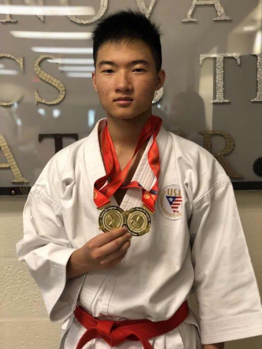 Cody Lam karate