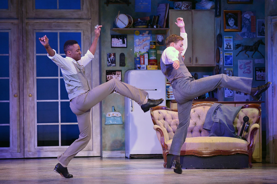 "Chris Campbell, left, in a regional theater production of ""The Drowsy Chaperone."""