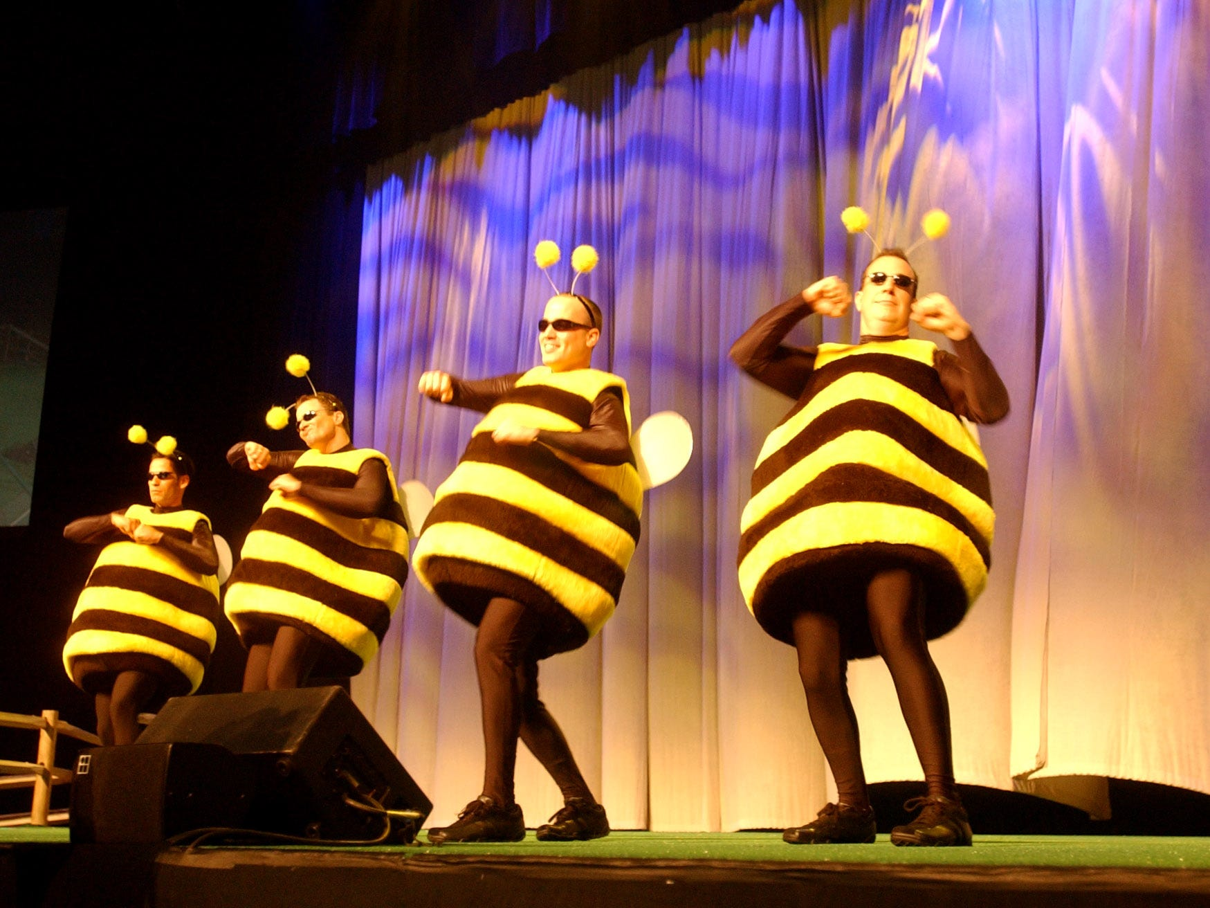 Photos from the 2003 Longaberger Bee.