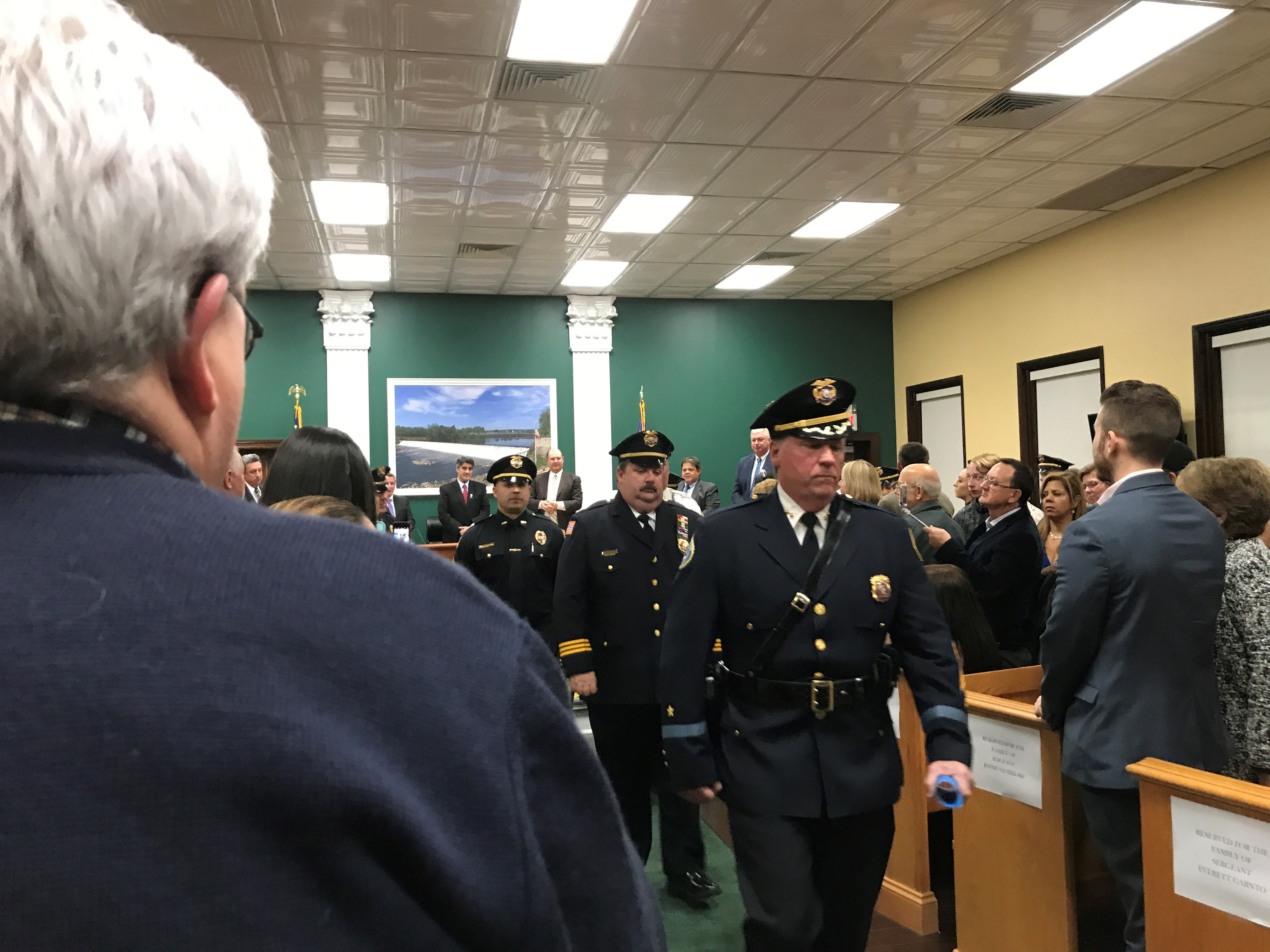 Garfield Police Department Promotes Deputy Chief And Eight Sergeants