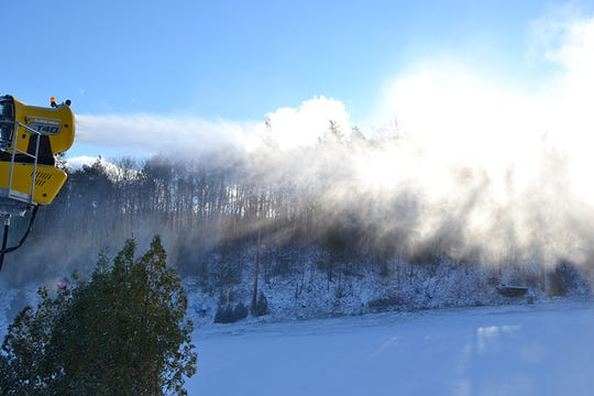 Snowmaking is in full force at Blue Mountain for opening day on Friday Nov. 23 offering discounts and deals.