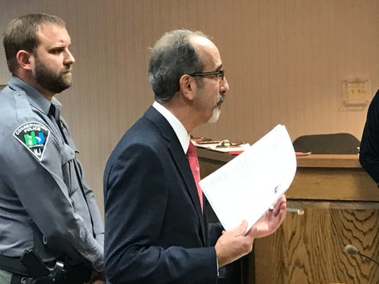 Municpal Prosecutor Anthony M. Arbore called for a harsh sentence for Crain.