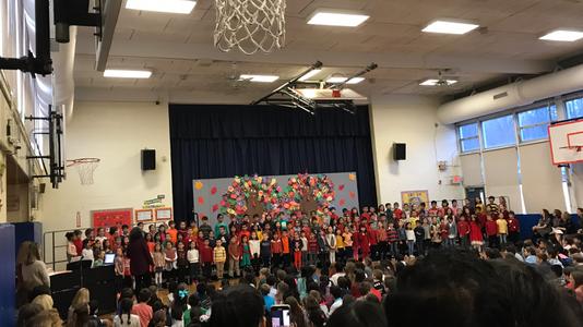 Thanksgiving Show Hillside Elementary School Closter
