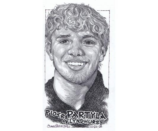 Piotr Partyla, of Lyndhurst High School