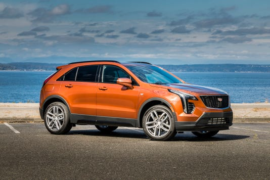 2019 Cadillac XT4 AWD Sport crossover vehicle