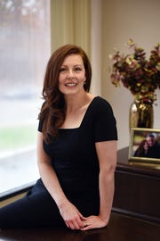 Julianne Cantarella, Matchmaker, Dating Coach & Relationship Expert, poses for photos at her office in Englewood Cliffs on 11/20/18.