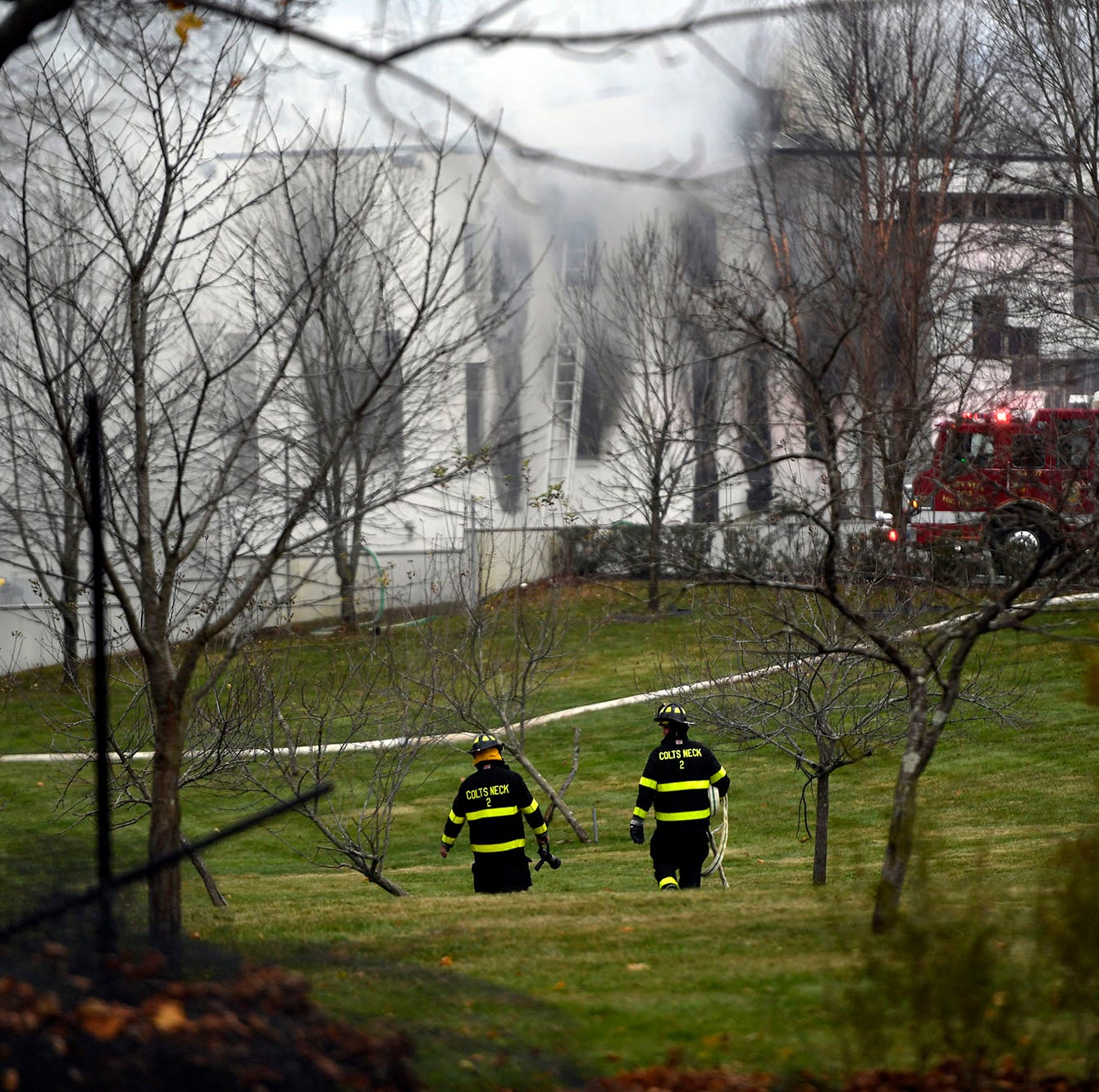 4 people, including 2 children, killed in arson blaze at New Jersey mansion