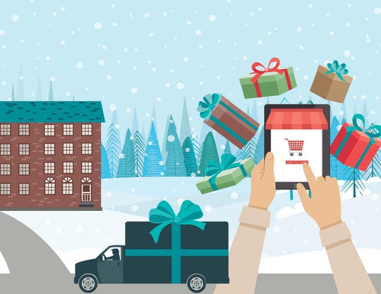 with a little effort, you can hide your online purchases until you're ready to give them to loved ones in person.