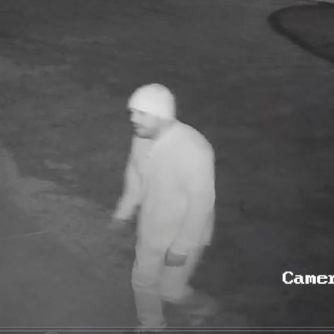 DASO seeks alleged burglar spotted on video