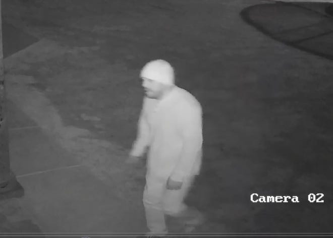 Doña Ana County authorities on Monday, Nov. 19, 2018 announced they're seeking the public's help in finding the man seen in this still photo taken from a security camera.