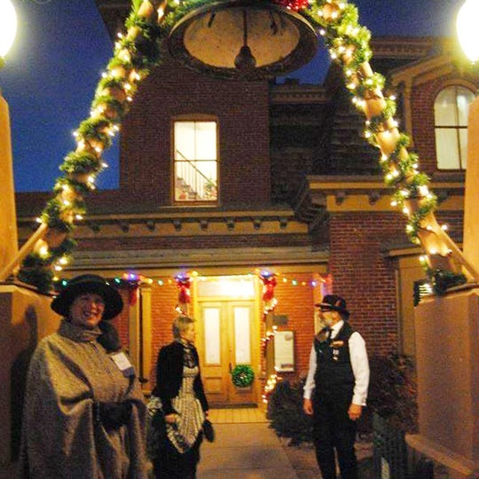 Decorations, costumed characters, activities and entertainment will transport guests to Christmas Past at the Silver City Museum on Dec. 13.