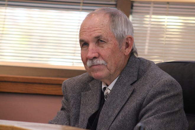 James Walterscheid, Nov. 20, at a meeting of the Eddy County Board of Commissioners.