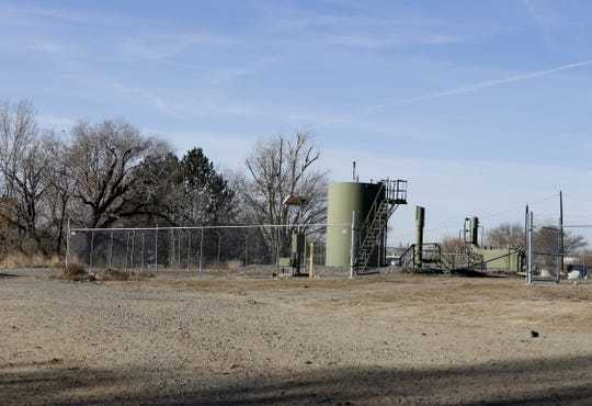 Hilcorp Energy Company recently received approval to recomplete this well, pictured Tuesday, Nov. 20, 2018, located off of Western Drive in Aztec. Hilcorp's application to increase well density in the Blanco-Mesaverde pool was approved this week. The approval will allow for more wells to be recompleted.