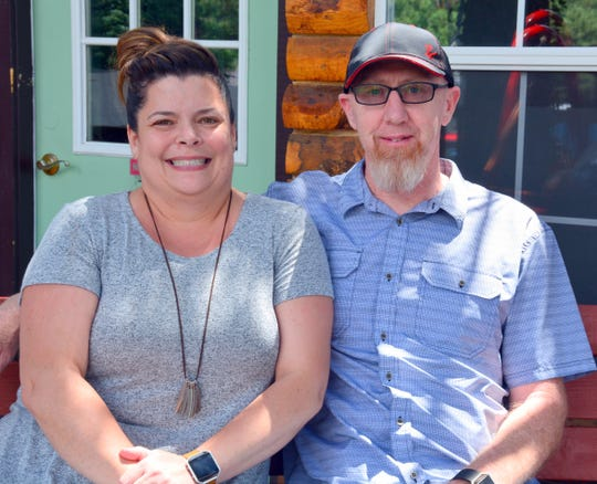 Owners Todd and Lori Robertson raised their son and continued to renovate the Sitzmark over the years.