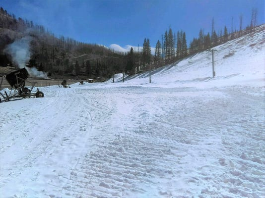 snow for the season
