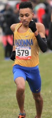 Livonia Franklin grad Tony Floyd took NAIA All-American men's cross country honors for the third straight year with a third place finish.