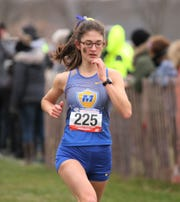 Alison Shapic was Madonna's top finisher in 13th place overall at the NAIAs.