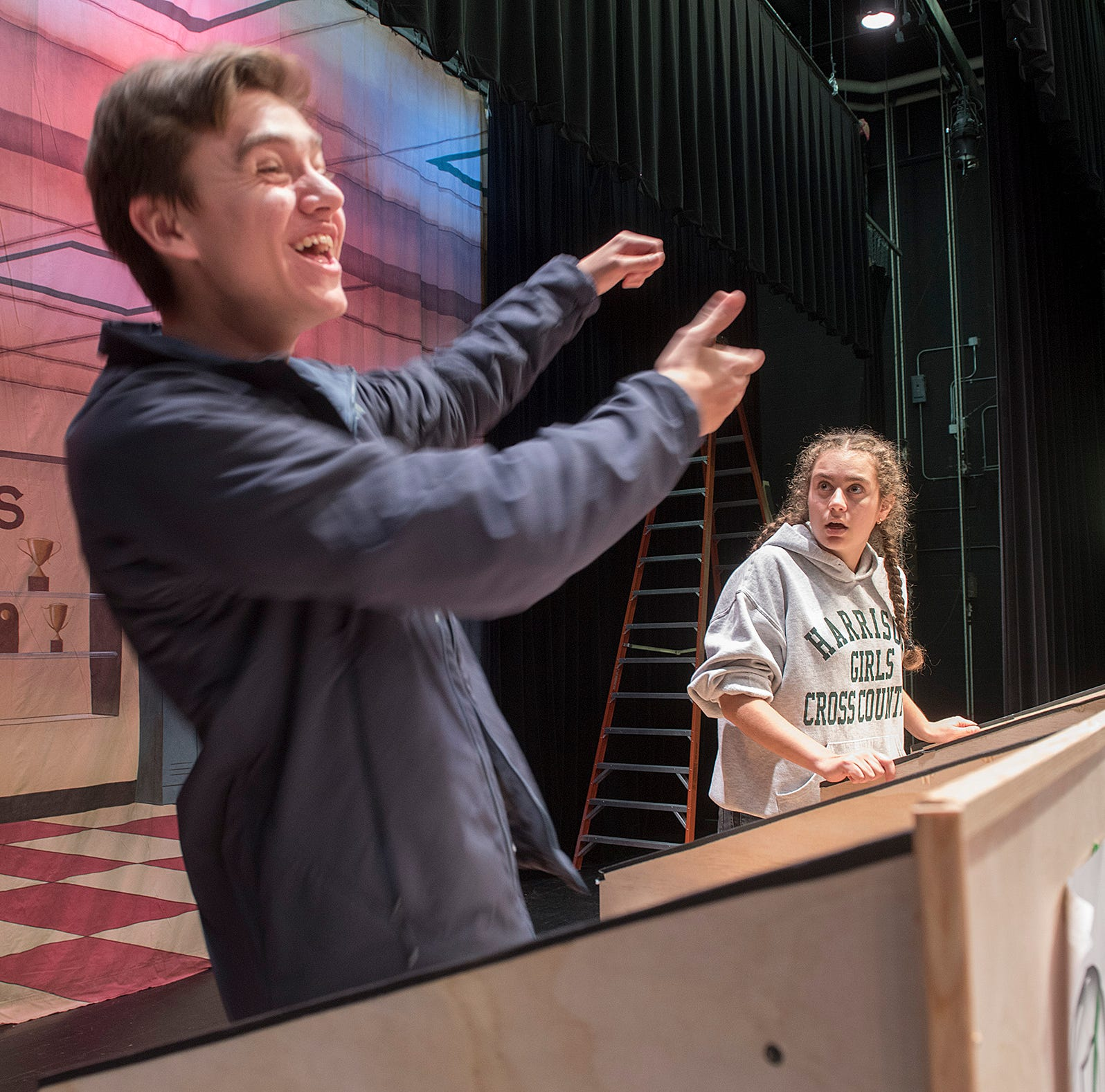 Harrison play extends 'Election' season on stage