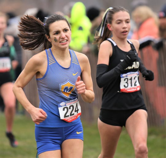 Madonna's Christian Murphy was 14th overall in the NAIA Nationals.