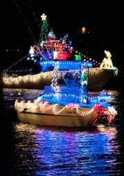 The Pensacola Beach Lighted Boat Parade will set sail at 6:30 pm. Saturday, Dec. 1, from Sabine Marina on Pensacola Beach.