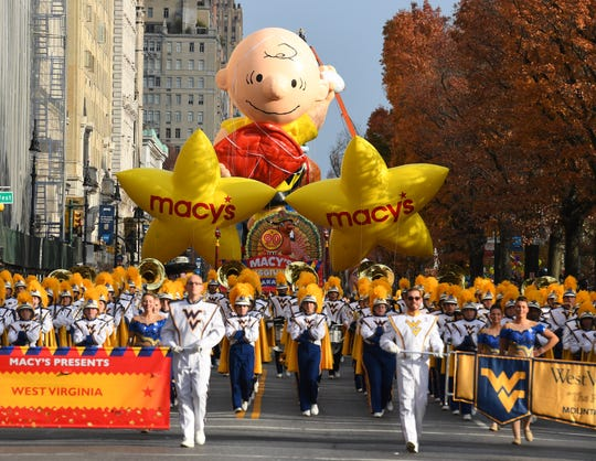 Macy's Thanksgiving Day Parade kicks off in 2016.