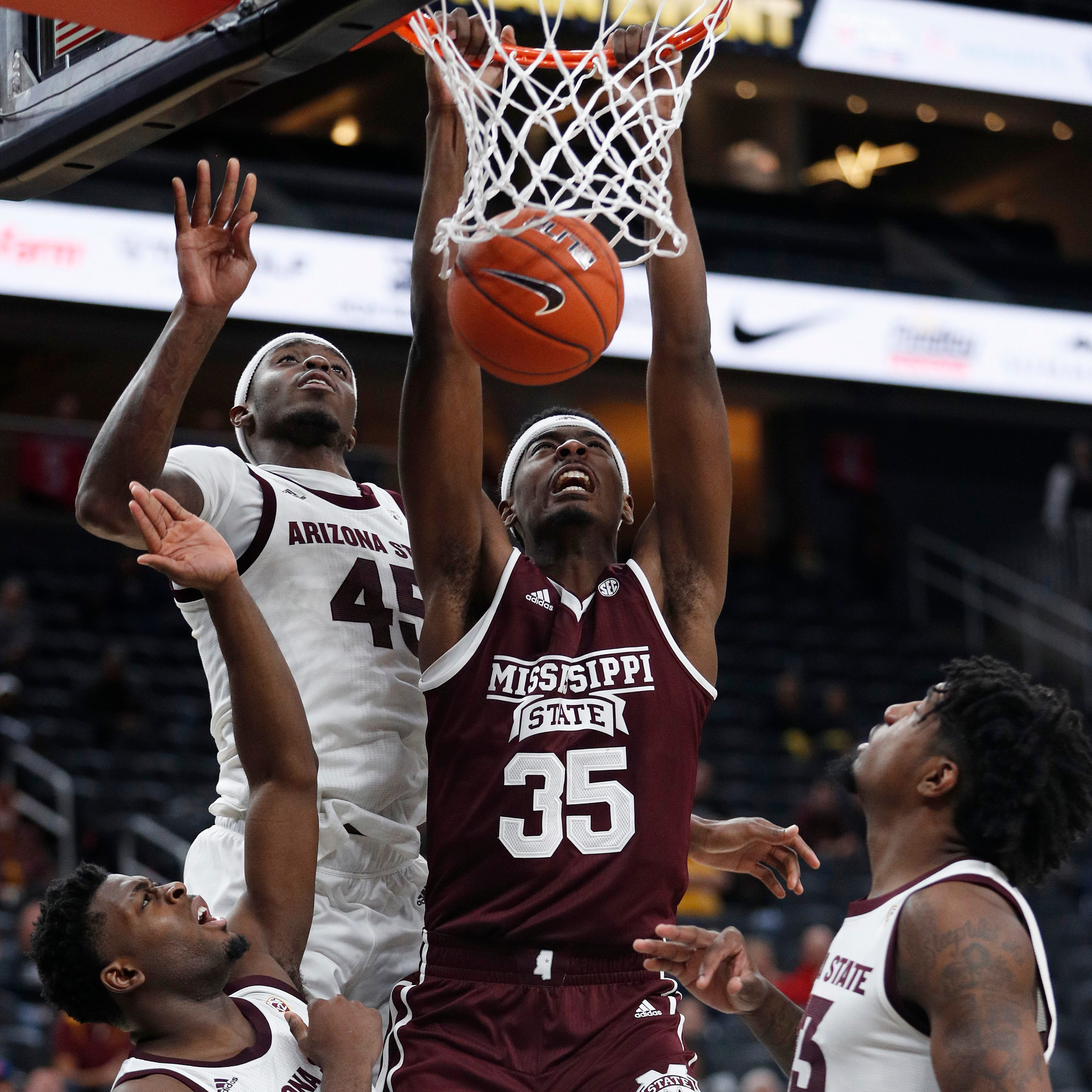 Mississippi State suffers first men's basketball loss of the season