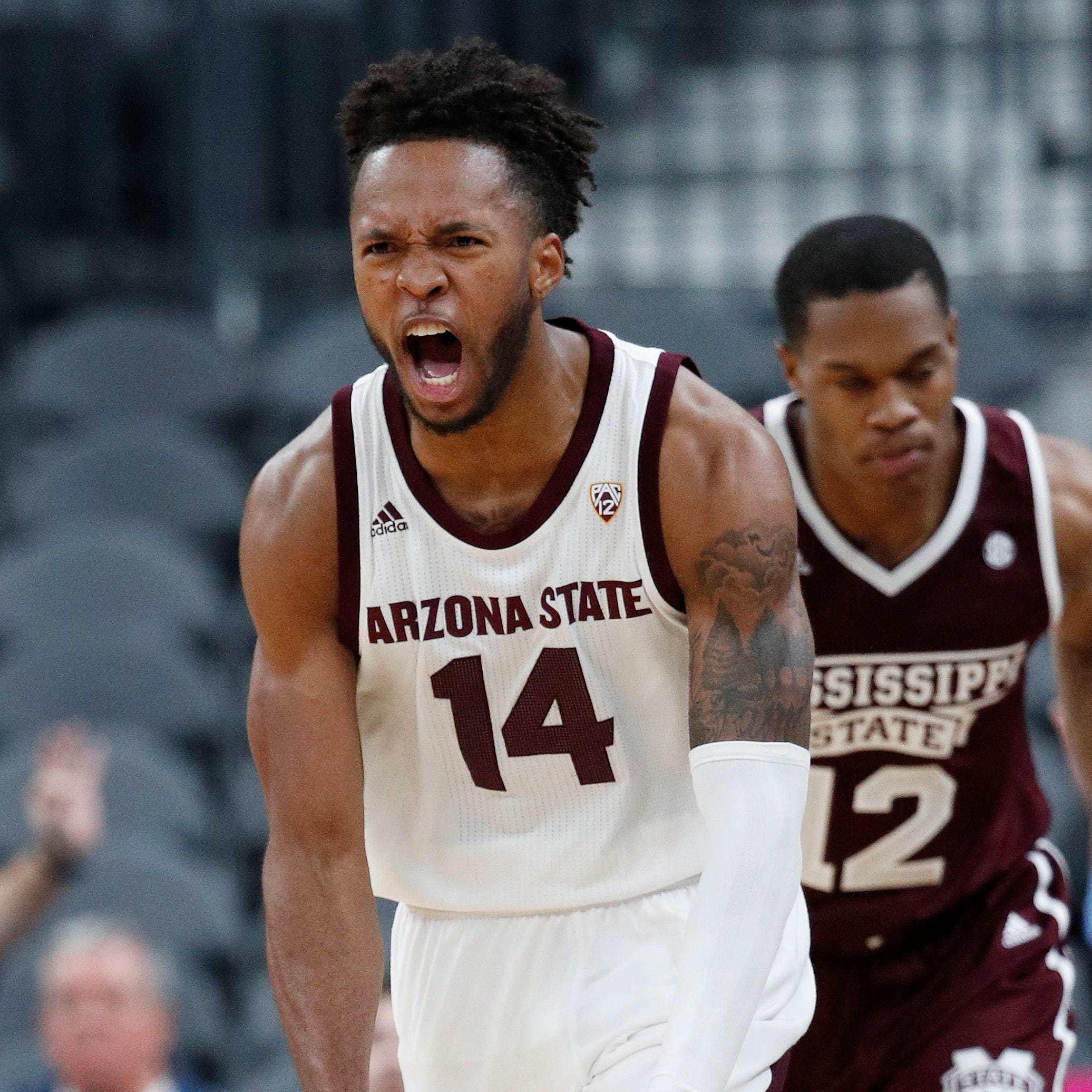 Kimani Lawrence, ASU basketball knock off No. 15 Mississippi State in Las Vegas