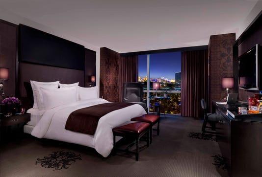 Standard Room King Bed Strip View Photo Credit John Martorano