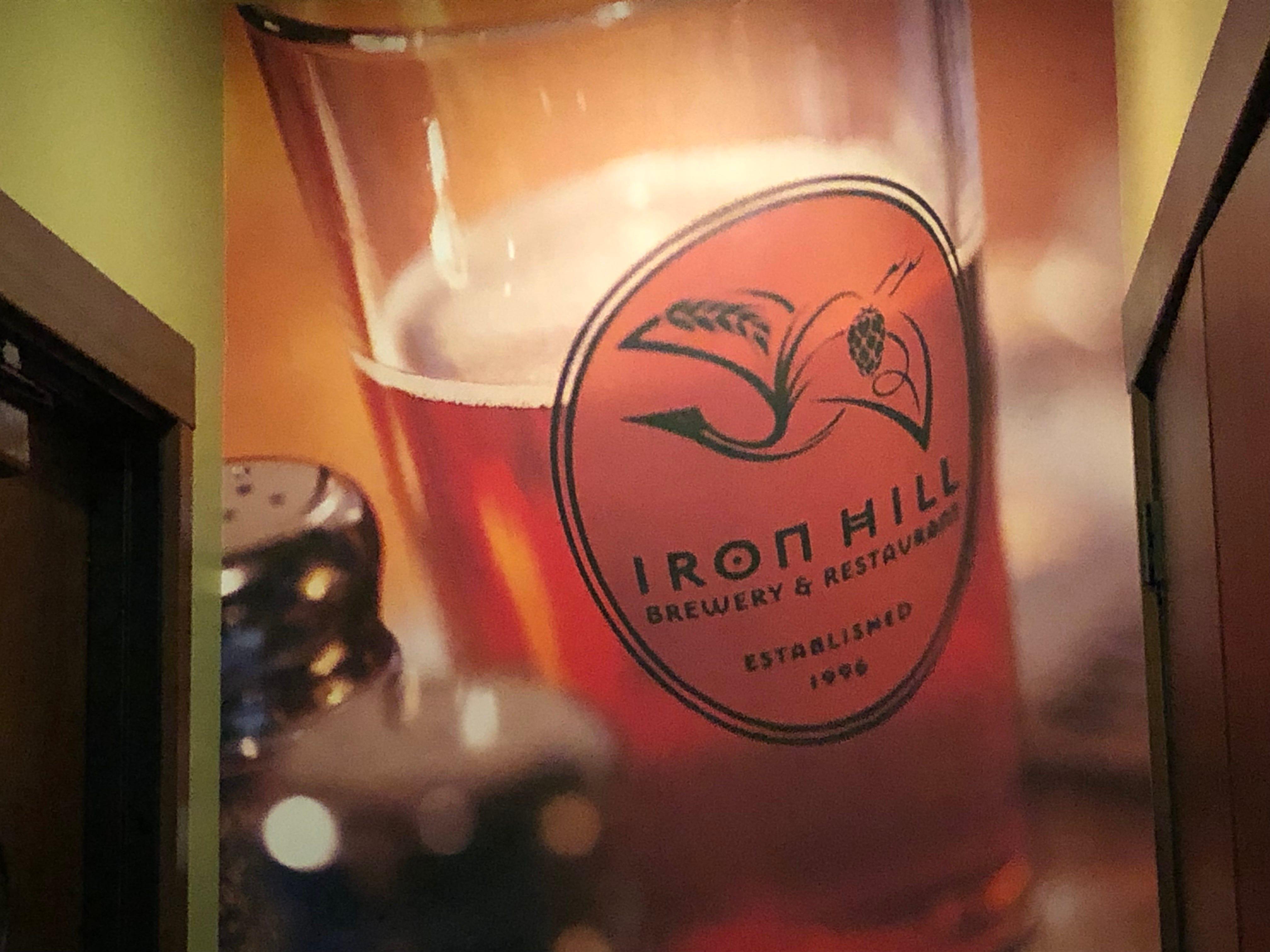 Iron Hill Brewery & Restaurant.