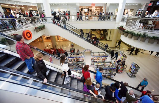 Holiday shopping at Poughkeepsie Galleria